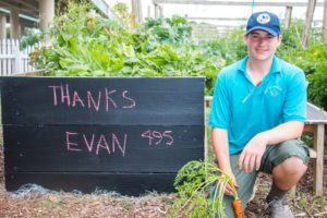 Innisfree Hotels Eagle Scout Gives Back to Community Garden