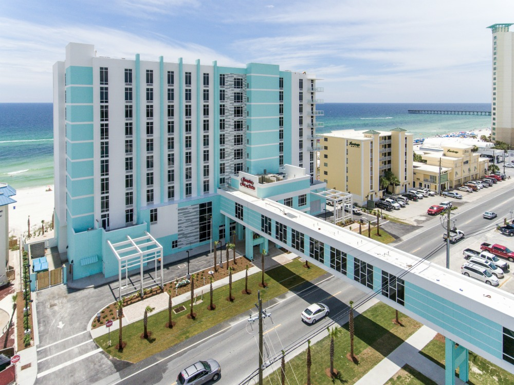 Hampton Inn Panama City Beach Front Beach Road